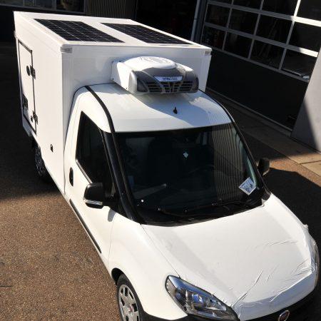 SolarFlex, zonnecellen voor koeltransport