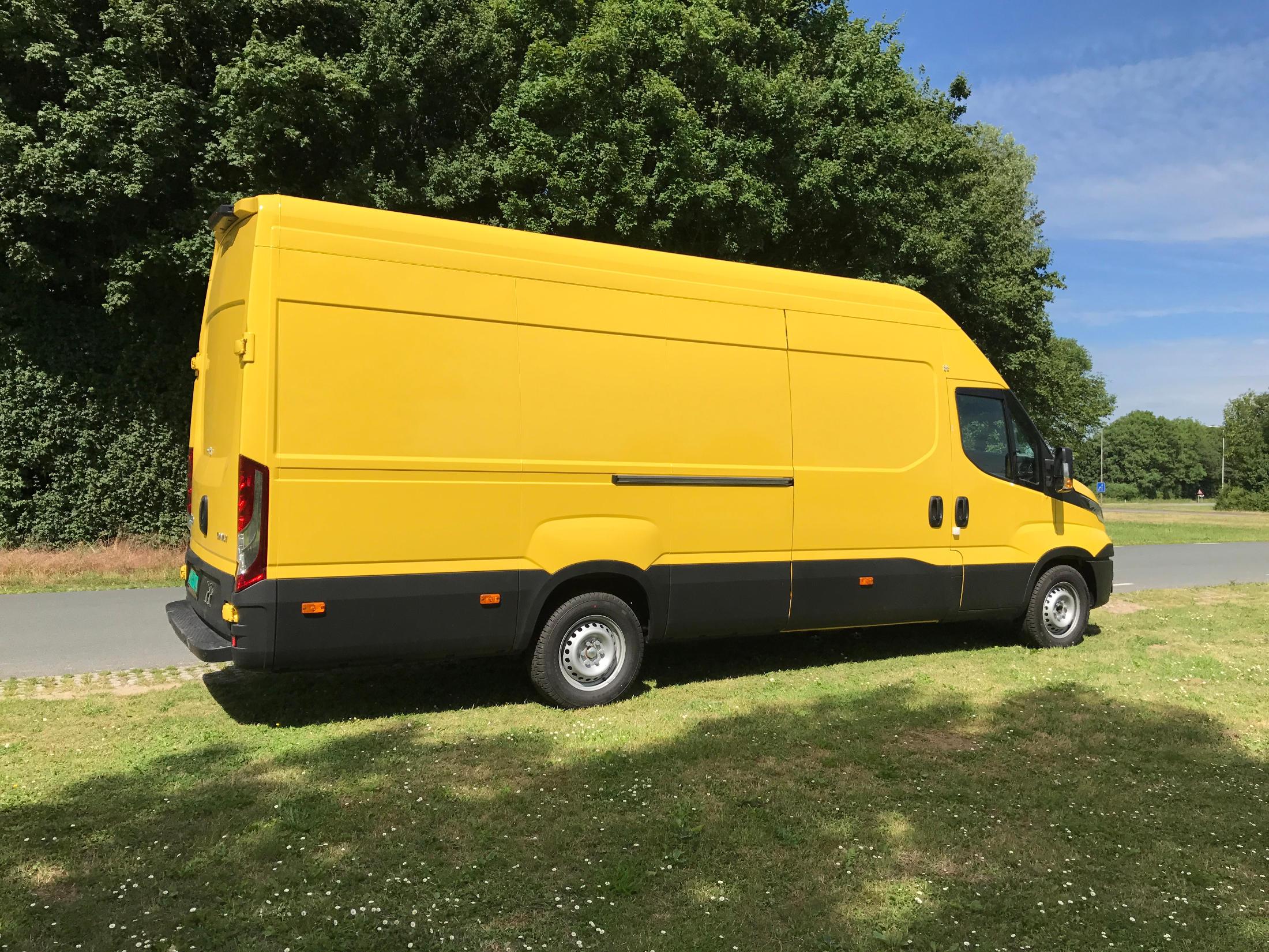 Lichtgewicht koelwagen Iveco Daily