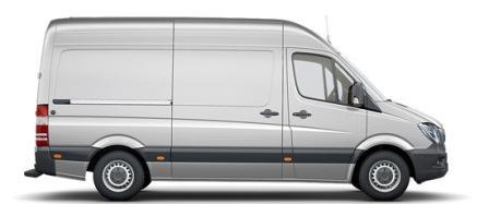 Mercedes Sprinter medium hoog dak