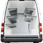 Legplankensysteem koelbestelwagen