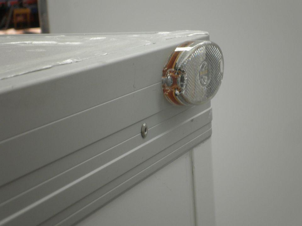 Koelbakwagen City Light achterreflector