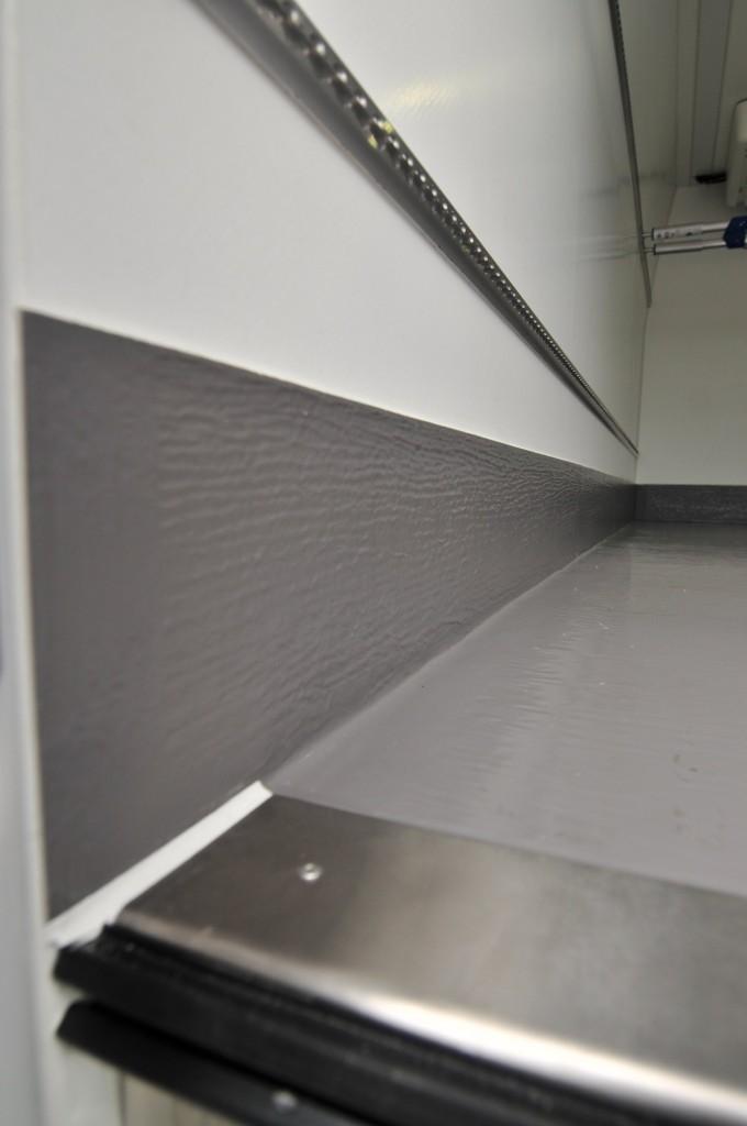 IsoVan koelwagen binnenzijde