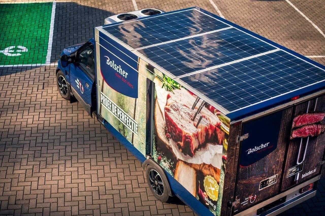 zero emission oplossingen in elektrisch koelstransport